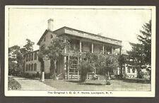 POSTCARD:  ODD FELLOWS (I.O.O.F.) ORPHANAGE - LOCKPORT, NEW YORK - Unused, 1900s