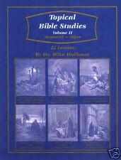 Baptist Sunday School Topical Bible Studies Vol. 2  KJV