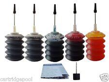 Lexmark 32/33 23A/24A 34/35 43/44 refill ink kit 5x30ml