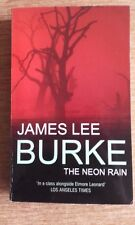 James Lee Burke The Neon Rain Arrow Paperback Book