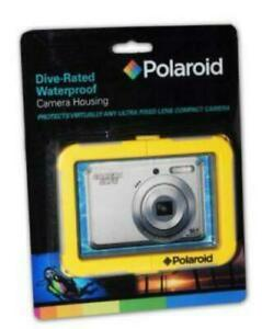 Polaroid Dive-Rated Waterproof Camera Housing for Fixed Lens Compact Cameras