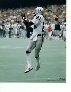 84 CLIFF BRANCH OAKLAND RAIDERS LICENSED UNSIGNED 8x10 PHOTO LOT