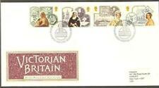 GREAT BRITAIN 1987 QUEEN VICTORIA Mafeking Siege Boy Scouts TELEGRAPH Rowing FDC