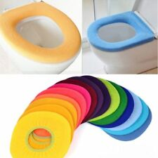 Lovely Pads Cloth Lid Top Seat Soft Closestool Toilet Warmer Bathroom Cover