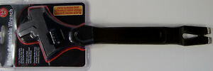 """13-1/2"""" Multi Purpose ADJUSTABLE WRENCH with Hammer, Pry Bar an Puller Black new"""
