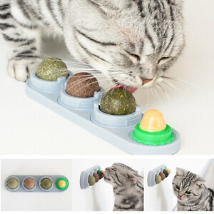 4-in-1 Cat Snacks Organic Catnip Sugar Candy Licking Food Toy For Pets Kitten