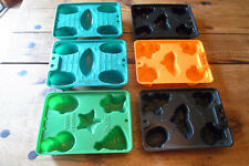 6 Jello Jiggler Molds Football Xmas Halloween Jello Shots Party Fun!