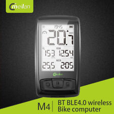 Meilan M4 Bike Computer Bluetooth Bike Speedometer Odometer Heart Rate Monitor