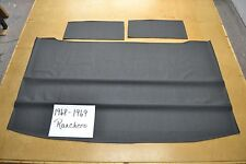 1968 68 1969 69 FORD RANCHERO BLACK HEADLINER USA MADE TOP QUALITY