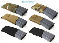 Blue Force Gear High or Low Rise BELT Mount Single 556 Mag Pouch-MC-Coyote-Black