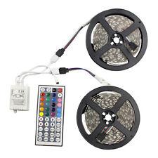 10M 5050 RGB Outdoor LED Strip Lights Kit Waterproof Colour Changing Lighting