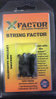 """XFactor Outdoor Bow Hunting """"String Factor"""" One Pack of 4 Silencers Loc#J42"""