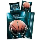 Basketball Set Housse de couette simple réversible LITERIE COTON