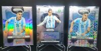 LOT(3) 2018 Prizm Paulo Dybala Autograph Laser and Silver NM-M Condition