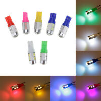 5630/5730 10SMD LED Auto Wedge Lights Side Bulbs Fog Lamp W5W 2825 158 192 168