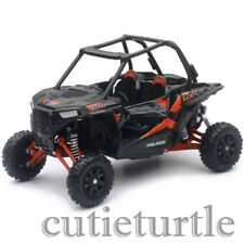 "New Ray Polaris RZR XP 1000 6.5"" Long Dune Buggy 4 Wheels 1:18 57593 D Black"