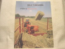 New Holland1003 1036 1037 1038 Automatic Bale Wagons Dealers Brochure BWPA