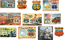 ho scale route 66 decals