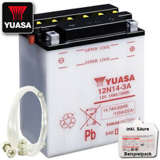 2017 Shido Lithium LTX9-BS YTX9-BS Batterie Kawasaki Z900 ZR900 Bj