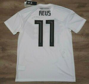 Germany #11 Reus Soccer Jersey Football Shirt 100% Original M 2018/2019 Home