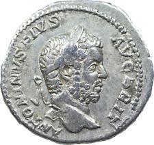 Lot 407: Caracalla AD 198-217. Rome Denarius AR,a