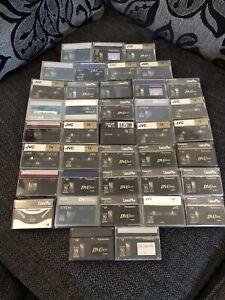 39 Mini DV Cassettes Inc Sony TDK Panasonic JVC Fuji