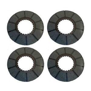 Four (4) Brake Discs Fits Case Tractors LA 400 400RC 730 801 830 870 930 1030