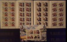 327 Briefmarken Burundi Müsiker KB.+10-er Bogen ,postfrisch