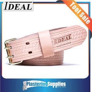 Ideal Heavy Duty Leather Work Belt MEDIUM ID307