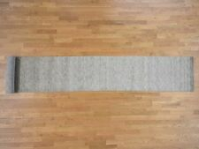 "2'7""x18'2"" Pure Wool Gabbeh XL Runner Hand-Loomed Oriental Rug R40438"