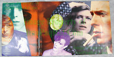 UNIQUE David Bowie Card Stock Poster ChangesBowie Promo Display MUST SEE! NITF!