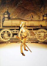 Affiche Vatine Angela Train 50x70 cm
