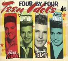 Elvis Presley, Frankie Avalon, Ricky Nelson, Paul Anka - Teen Idols (NEW 4CD)