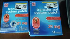 Lot of Two Rite Aid Step 1 Transdermal System Patch- 21 mg 28 Patches 4 week Kit