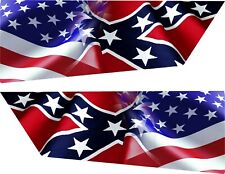 2016-CURRENT Honda Pioneer 1000 Front Doors Pair Gloss Waving Flag faded to RBL