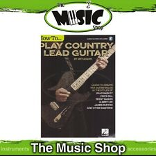 New How to Play Country Lead Guitar Music Tuition Book & Online Audio Access
