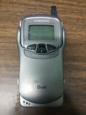 UNTESTED SAMSUNG SCH-3500 CDMA VINTAGE FLIP FLOP CELL PHONE CELLULAR TELEPHONE