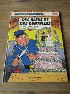 Lambil-Cauvin-Bd-EO Tuniques bleues-signée Lambil-des bleus et dentelles(1985)