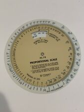 C-Thru Ruler Company Ps79 Proportional Scale 6 Inch