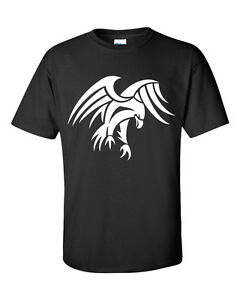 Mens Eagle Design Novelty Gift T-Shirt -- S - XL