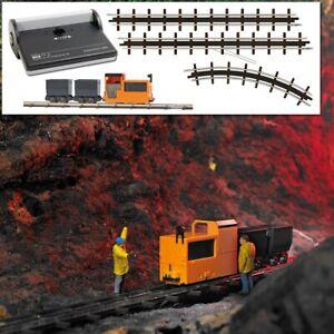 Busch 12020 - 1/87 - Mine Railway Start Set - New