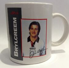 David Beckham 1990's England Cup Collectible Ceramic Mug Brylcreem Man Utd