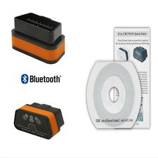 Bluetooth Android ELM327 OBD2 OBDII Car SUV Diagnostics Tool Code Scanner Reader