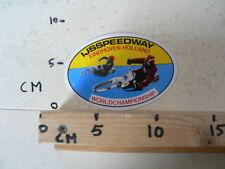STICKER,DECAL EINDHOVEN HOLLAND IJSSPEEDWAY WORLDCHAMPIONSHIP ICE SPEEDWAY MOTO