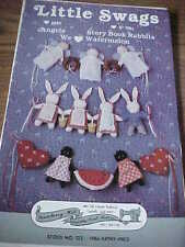 "Holiday pattern 5"" Crafted Angel Swag/Garland plus Babies and Bunnies/Easter"