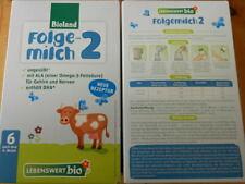 5 Pakete Bioland Bio Babymilch Folgemilch 2 ungeöffnet ab 6.Monat Baby Milch