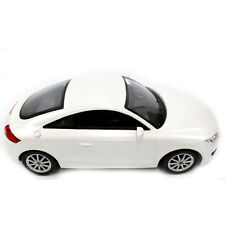 1:14 Scale Rc Audi Tt Remote Control Model Car Rtr With Lights White New
