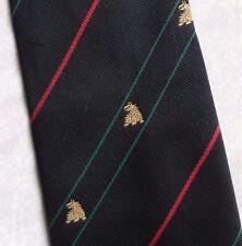 Leonard neasham Tie retrò vintage nero club associazione società LOGO ANNI'90
