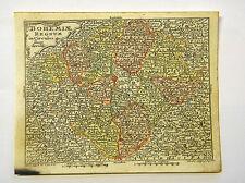 Bohemia Prague Czech Republic Europe altkol Copperplate Map Moores 1762 #d916s