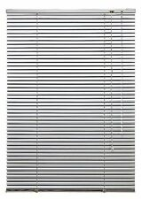 Jalousie aus Aluminium Fenster Türen Lamellen Rollo Silber 120 cm x 160 cm